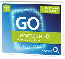 SIM karta O2 Předplacená karta GO neomezeně - SMALLGO.150DV41