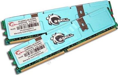 G.Skill DIMM 2048MB DDR II 800MHz F2-6400CL4D-2GBPK
