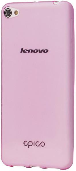 EPICO pružný plastový kryt pro Lenovo S60 RONNY GLOSS - růžový