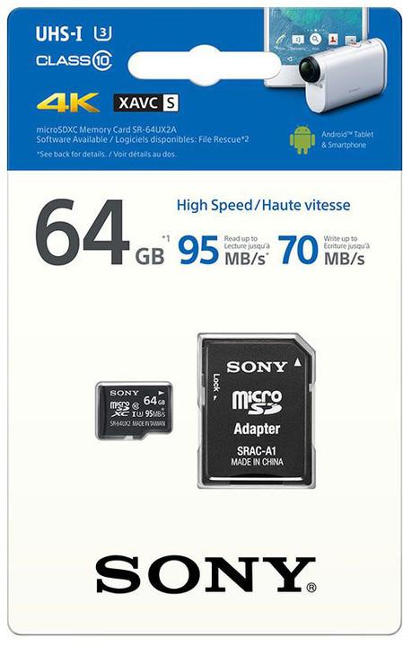 Sony Micro SDXC UHS-I 64GB