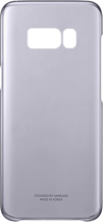 Samsung S8+, Poloprůhledný zadní kryt, violet