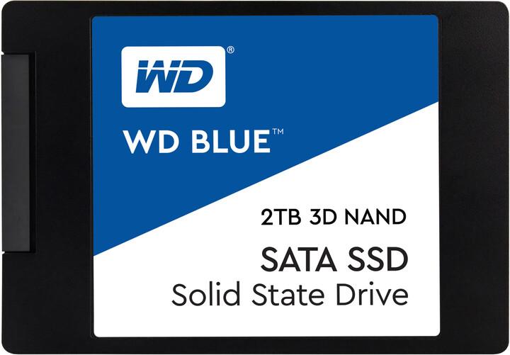 """WD Blue 3D NAND, 2,5"""" - 2TB"""