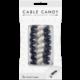 Cable Candy kabelový organizér Small Snake, 3 ks, černá a bílá
