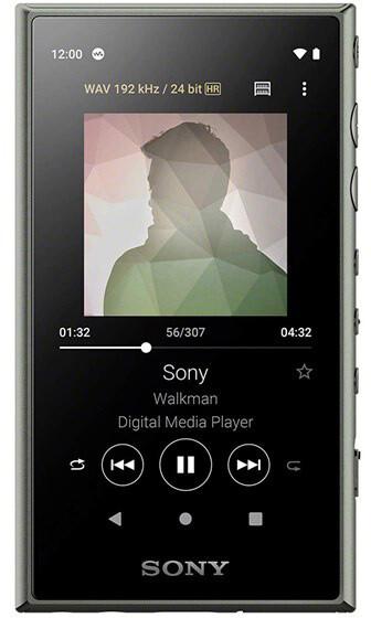 Sony NW-A105L - 16GB, zelená