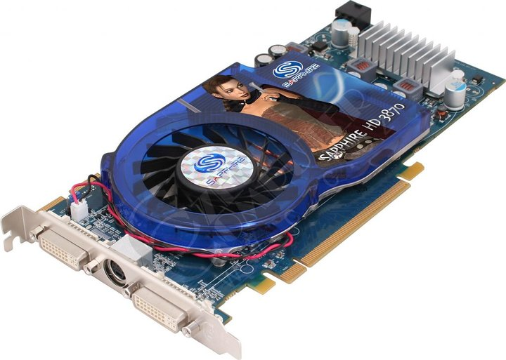 Sapphire HD 3870 Blue PCB 512MB, PCI-E