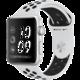 Apple Watch series 3 42mm NIKE+ pouzdro stříbrná/platinovo černý řemínek  + Belkin Apple watch Sports řemínek, 42mm + Voucher až na 3 měsíce HBO GO jako dárek (max 1 ks na objednávku)