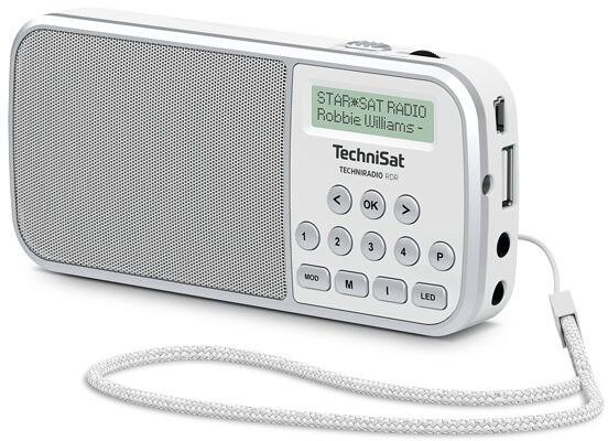 TechniSat TechniRadio RDR, bílá