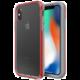 LifeProof SLAM ochranné pouzdro pro iPhone X / iPhone Xs průhledné - šedo červené