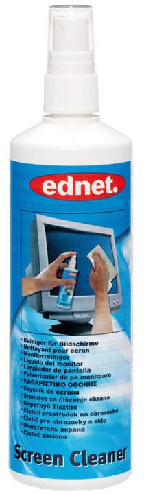 Ednet čistící rozprašovač na obrazovky, sklo, plastové povrchy, 250ml