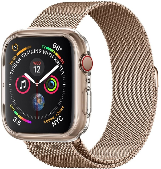 Spigen Liquid Crystal Apple Watch 4 44mm, čirý