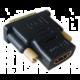 Gembird CABLEXPERT kabel HDMI na DVI, F/M, zlacené kontakty, černá
