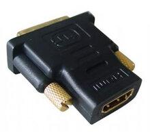 Gembird CABLEXPERT kabel HDMI na DVI, F/M, zlacené kontakty, černá - A-HDMI-DVI-2