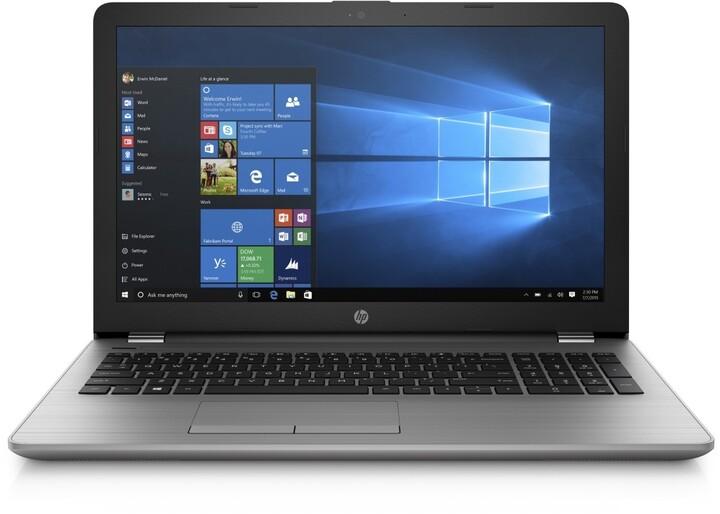 HP 250 G6, stříbrná