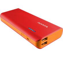ADATA PT100 10000mAh červená/oranžová - APT100-10000M-5V-CRDOR