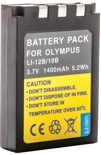 MadMan baterie pro Olympus LI-10B / LI-12B