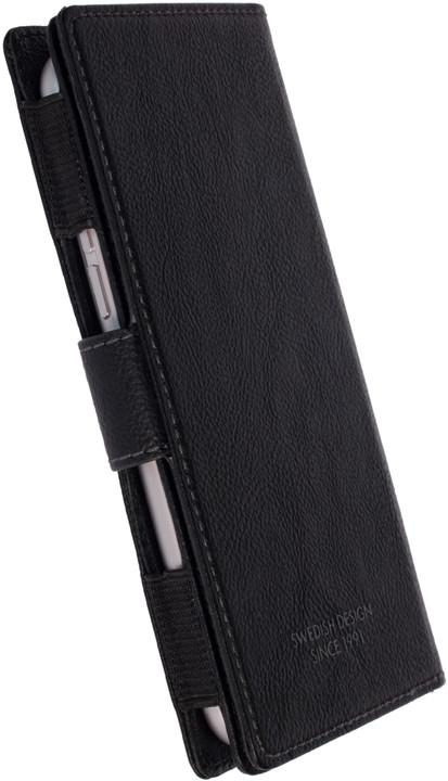 Krusell VARGÖN WalletCase 5XL peněženkové pouzdro, černá