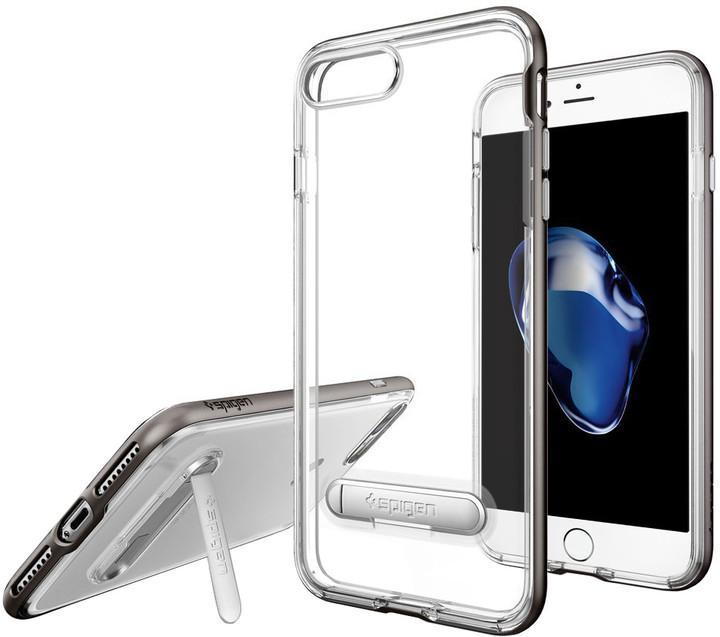 Spigen Crystal Hybrid pro iPhone 7 Plus, gunmetal