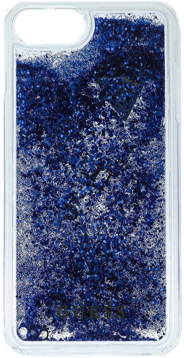 Guess Liquid Glitter Hard Purple pouzdro pro iPhone 7 Plus
