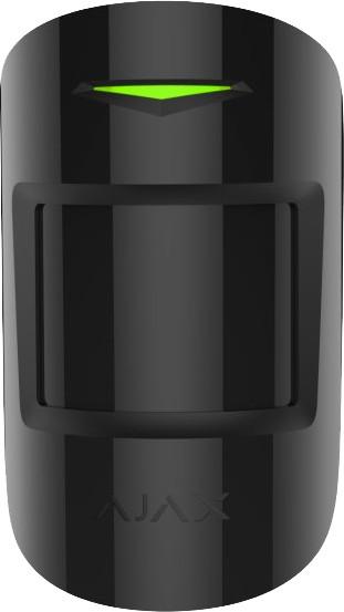 Ajax MotionProtect Plus - Bezdrátový duální PIR + MW detektor pohybu, černá