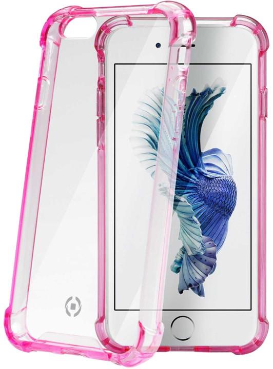 CELLY Armor zadní kryt pro Apple iPhone 6S, růžový