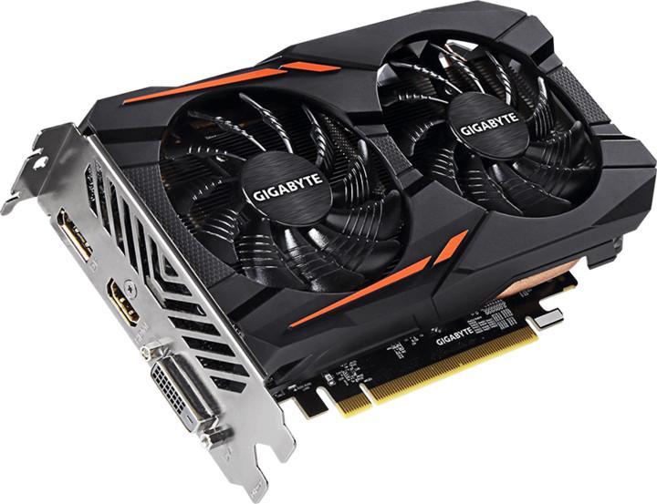 GIGABYTE Radeon RX 560 Gaming OC, 2GB GDDR5