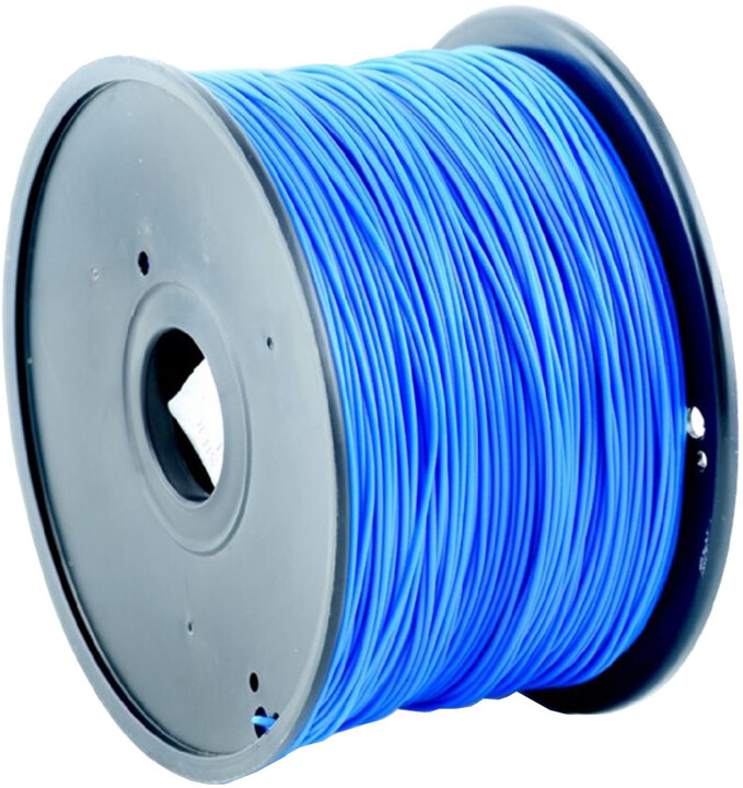 Gembird tisková struna (filament), HIPS, 1,75mm, 1kg, modrá