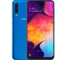 Samsung Galaxy A50, 4GB/128GB, modrá  + Půlroční předplatné magazínů Blesk, Computer, Sport a Reflex v hodnotě 5 800 Kč