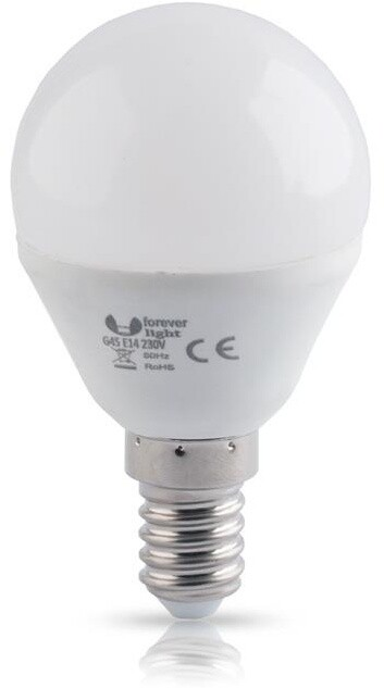Forever žárovka G45 E14, LED, 6W, 4500K, neutrální bílá