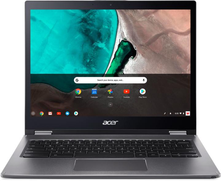 Acer Chromebook Spin 13 (CP713-1WN), šedá