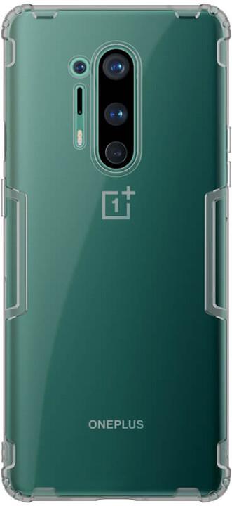 Nillkin pouzdro Nature TPU pro OnePlus 8 Pro, šedá