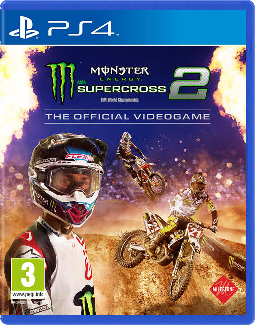 Monster Energy Supercross – The Official Videogame 2 (PS4)