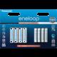 Panasonic Eneloop HR6 1900mAh + HR03 750mAh 8BP  + PANASONIC RP HJE125E-R sluchátka, červená (v ceně 299,-)