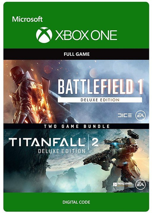 Battlefield 1: Deluxe Edition & Titanfall 2: Deluxe Edition (Xbox ONE) - elektronicky