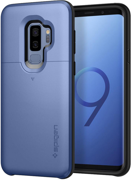 Spigen Slim Armor CS pro Samsung Galaxy S9+, coral blue