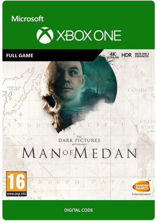 The Dark Pictures Anthology Man of Medan (Xbox ONE) - elektronicky