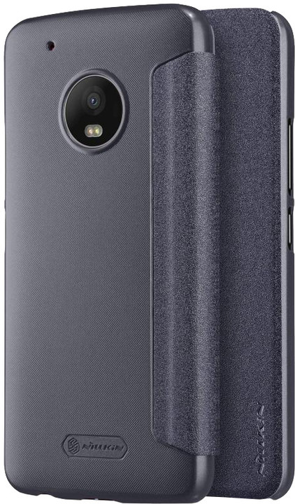 Nillkin Sparkle Folio pouzdro pro Lenovo Moto G5 Plus - černé