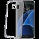 CELLY Laser - lemování s kovovým efektem TPU pouzdro pro Samsung Galaxy S7 Edge, černá