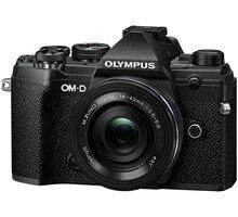 Olympus E-M5 Mark III + 14-42mm EZ, černá/černá - V207090BE030