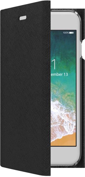 CELLY pouzdro typu kniha Shell pro Apple iPhone 7/8, černé