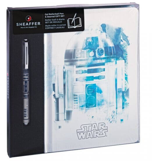 Sheaffer Star Wars R2-D2, sada keramického pera se zápisníkem