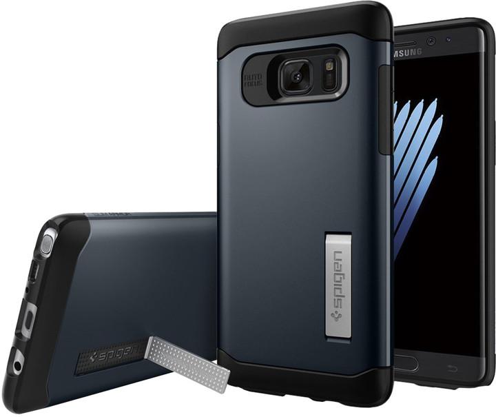 Spigen Case Slim Armor pro Galaxy Note 7, metal slate