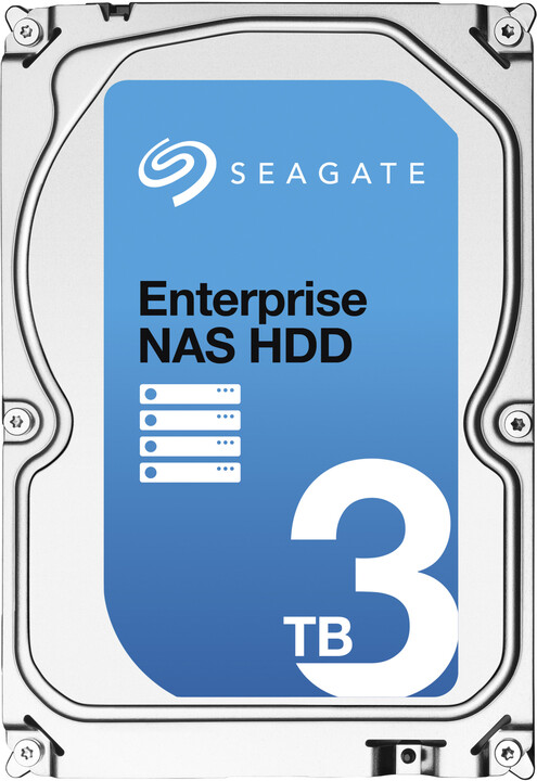 Seagate Enterprise NAS - 3TB + Rescue