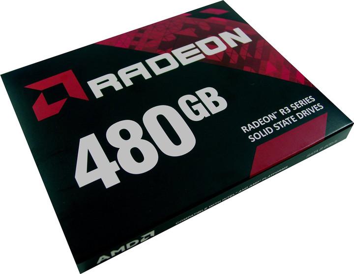 AMD Radeon R3 SSD - 480GB