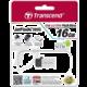 Transcend JetFlash 380S 16GB, stříbrná