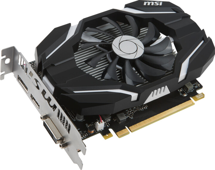 MSI GeForce GTX 1050 2G OC, 2GB GDDR5
