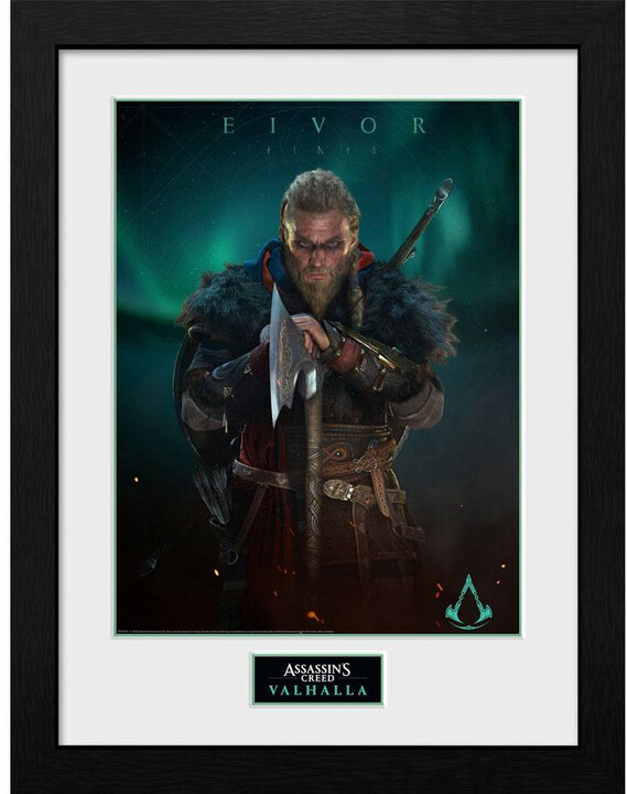 Zarámovaný plakát Assassins Creed: Valhalla - Eivor
