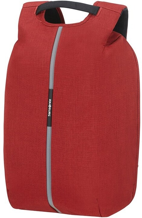 """Samsonite bezpečnostní batoh SECURIPAK pro notebook 15.6"""", červená"""