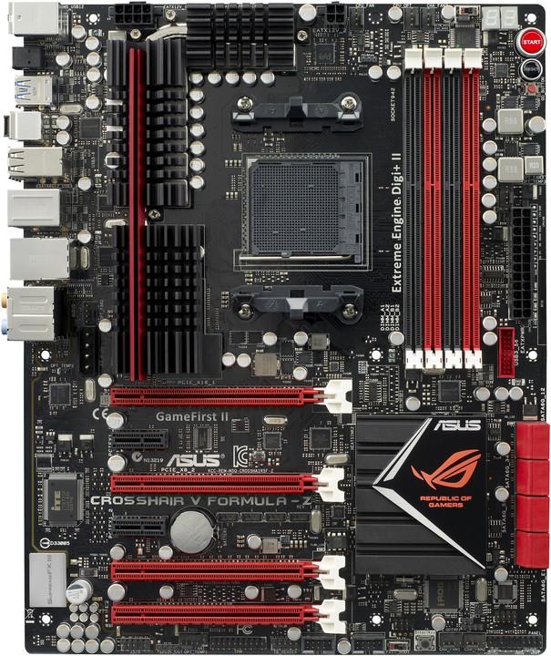 ASUS Crosshair V Formula-Z GAMING MB - AMD 990FX