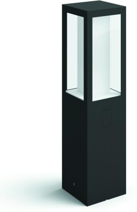 Philips venkovní sloupek Hue Impress, LED, RGB, IP44, černá