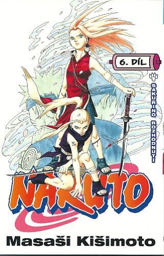 Komiks Naruto 06: Sakuřino rozhodnutí